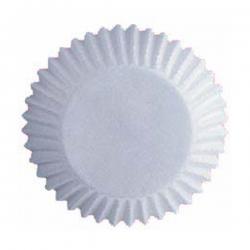 Weiße Muffinsförmchen Wilton 415-2505