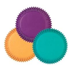 Bunte Papierförmchen für Mini Muffins Wilton 415-1111