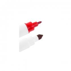 Czerwony pisak spożywczy podwójny MODECOR