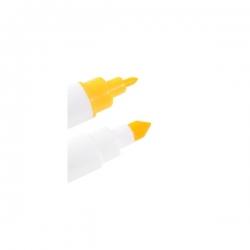 Żółty pisak spożywczy podwójny MODECOR