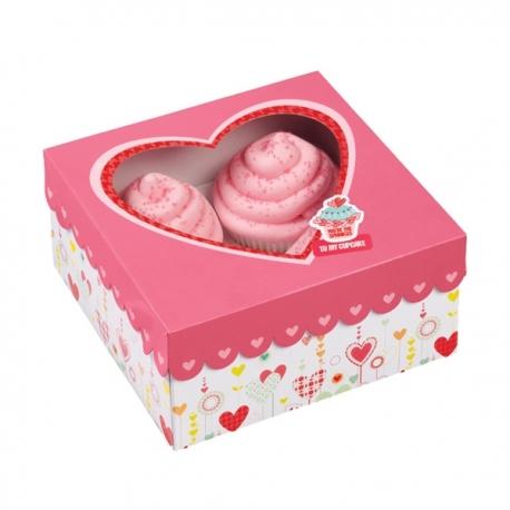 Pudełko ozdobne na muffiny i ciasteczka Wilton