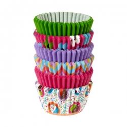 Papilotki do mini muffinów kolorowe babeczki 150 szt. Wilton 415-2188