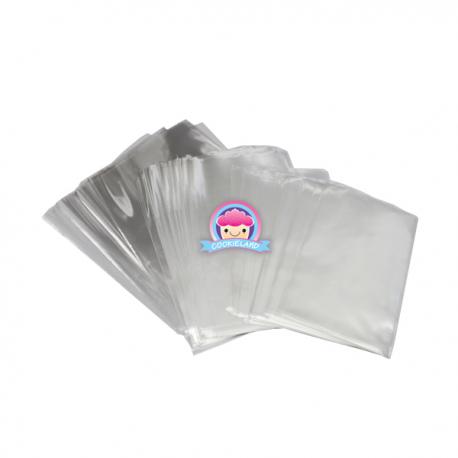 Zellophan - Plastiktüten 11cm x 16cm 100 Stk.