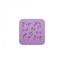 Silikonförmchen Schleifchen- Schablone Matte Tescoma
