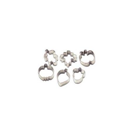 Foremki mini jesienne zbiory 6 szt. Wilton 2308-1217