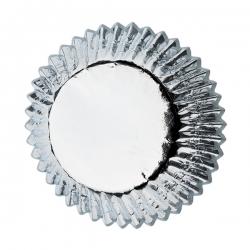 Papilotki bon-bon srebrne Wilton 2,5 cm 415-307