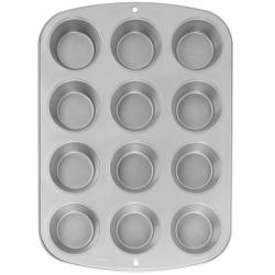 Metallform für Muffins 12 Nester Wilton 2105-952