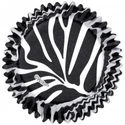 Papilotki aluminiowe zebra do muffinów Wilton 415-0516
