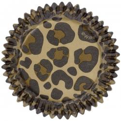 Metallförmchen für Muffins mit Leopardenmustern Wilton 415-0517