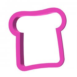 Das Förmchen für Kekse und Lebkuchen Toast