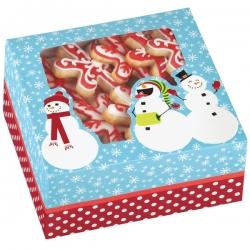 Pudełko na ciasteczka śnieżny bałwanek 3 szt. Wilton 415-1819