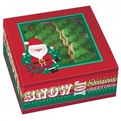 Weihnachtsbox für Kekse mit Weihnachtsmann 3 Stk. 415-1827 Wilton