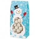 Pudełko świąteczne na ciasteczka z bałwankiem 3 szt. Wilton 415-1804