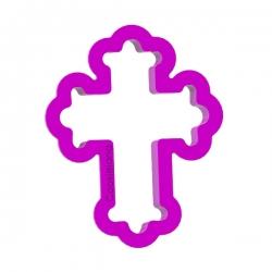 Das Förmchen für Kekse und Lebkuchen Kreuz 4