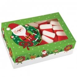 Pudełko duże świąteczne z Mikołajem 2 szt Wilton 415-1829