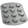 Forma metalowa do ciastek 12 walentynkowych wzorów Wilton 2105-8139