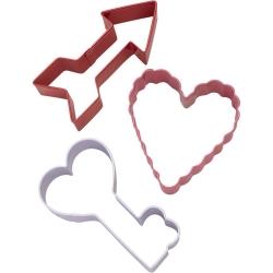Zestaw foremek strzała serce klucz Wilton 2308-8953