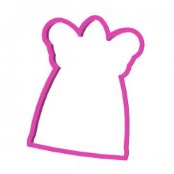 Das Förmchen für Kekse und Lebkuchen Großer Engel 3