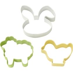 Wielkanocny zestaw 3 foremek do ciasteczek Wilton 2308-4456