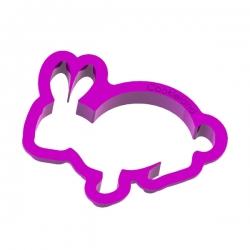 Das Förmchen für Kekse und Lebkuchen Kaninchen
