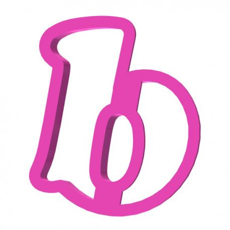 Foremka do ciastek i pierników Słodka mała litera b