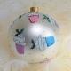 Świąteczny zestaw bombek na choinkę 4 szt. Cookieland