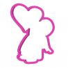 Foremka do ciastek i pierników Anioł z sercem
