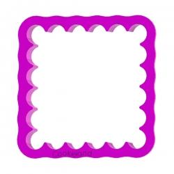 Das Förmchen für Kekse und Lebkuchen Plakette 6