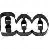 Metallform Aufschrift BOO Halloween Wilton 2308-8948