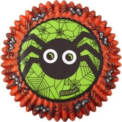 Halloween Papierformen für Muffins mit der Spinne Wilton 415-9689