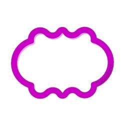 Das Förmchen für Kekse und Lebkuchen Plakette 9