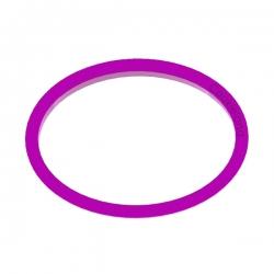 Das Förmchen für Kekse und Lebkuchen Plakette Oval
