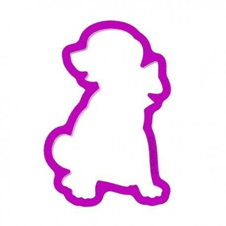 Foremka do ciastek i pierników Labrador szczeniak z kokardą