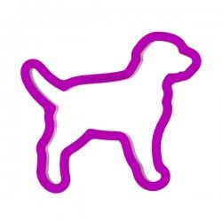 Das Förmchen für Kekse und Lebkuchen Hund Labrador