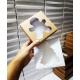 Świąteczne białe pudełko z okienkiem w kształcie choinki 11,5 x 11,5 x 3 cm