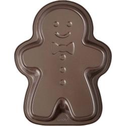 Brązowy Piernikowy Chłopiec świąteczna forma metalowa do ciast Wilton 2105-5383