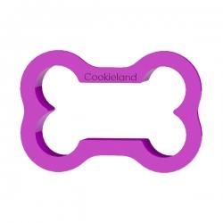 Das Förmchen für Kekse und Lebkuchen Hundeknochen mini