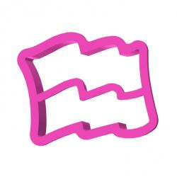 Flaga 2 z podziałką