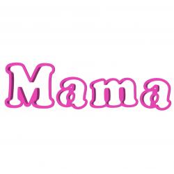 Mama Napis zestaw foremek 3 szt.