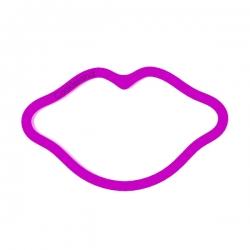 Das Förmchen für Kekse und Lebkuchen Lippen 2