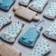 Das Förmchen für Kekse und Lebkuchen Schürze