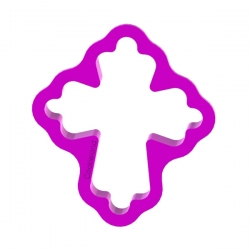 Foremka do ciastek i pierników Krzyż 3