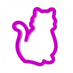 Das Förmchen für Kekse und Lebkuchen Katze