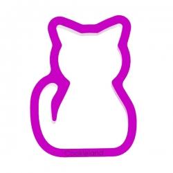 Das Förmchen für Kekse und Lebkuchen Sitzende Katze