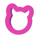 Mała głowa kota mini