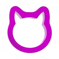 Das Förmchen für Kekse und Lebkuchen Katzenkopf