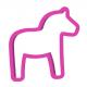 Drewniany koń DALA / symbol Szwecji