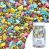 Posypka cukrowa PEARLS TUTTI FRUTTI - kolorowe confetti z owocami