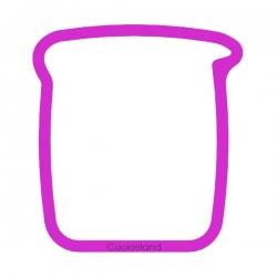 Das Förmchen für Kekse und Lebkuchen Laborbecherglas