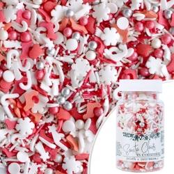 Posypka cukrowa PEARLS SANTA CLAUS IS COMMING - Mikołajkowe Boże Narodzenie